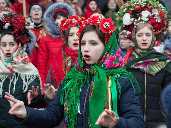 Колядка Нова радість стала мовою жестів