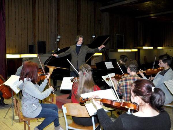 Майстер-клас швейцарського диригента Сільвіо Вілєра
