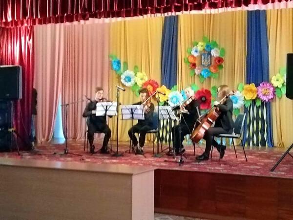 Благодійний концерт у геріатричному пансіонаті
