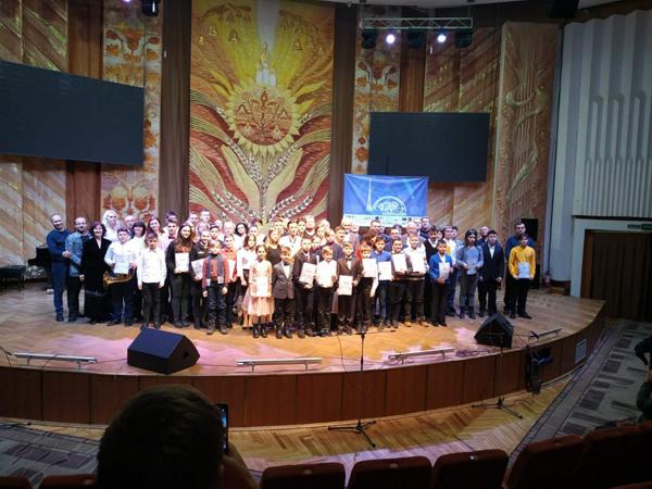 Перемога Юрія Олійника на Міжнародному конкурсі