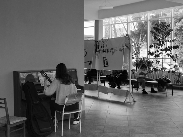 Урбаністична Зима у музичному училищі