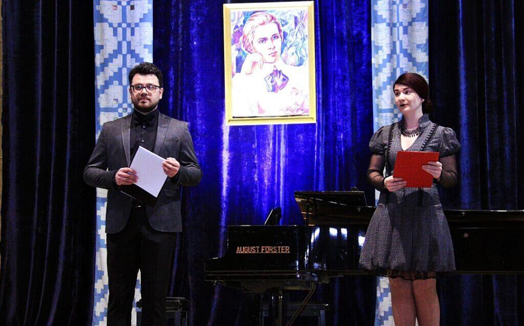 Музично-поетична імпреза до 150-річчя Лесі Українки 1