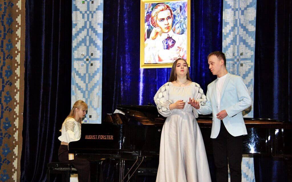 Музично-поетична імпреза до 150-річчя Лесі Українки 10